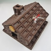Chocolate House Wall Clock - Fake Food Japan