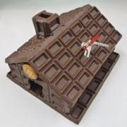 Chocolate House Wall Clock - Fake Food Japan