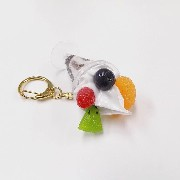 Chocolate Parfait (mini) Keychain - Fake Food Japan