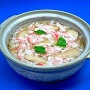 Crab, Abalone & Mushroom Rice Soup Replica - Fake Food Japan