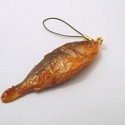 Crucian Carp Cell Phone Charm/Zipper Pull - Fake Food Japan
