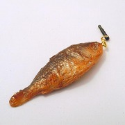 Crucian Carp Headphone Jack Plug - Fake Food Japan