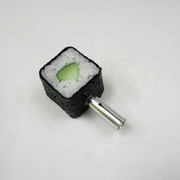 Cucumber Roll Sushi Ver. 2 Pen Cap - Fake Food Japan