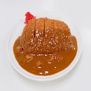 Curry & Rice with Pork Cutlet Replica - Fake Food Japan