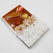 Curry Rice Business Card Case - Fake Food Japan