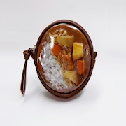 Curry Rice Circular Purse - Fake Food Japan