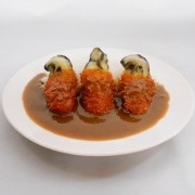 Deep Fried Oyster Curry Rice Small Size Replica - Fake Food Japan