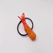 Deep Fried Shrimp (mini) Hair Band - Fake Food Japan