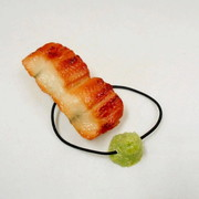 Eel Sushi with Wasabi Hair Band - Fake Food Japan