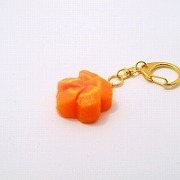 Flower-Shaped Carrot Ver. 2 Keychain - Fake Food Japan