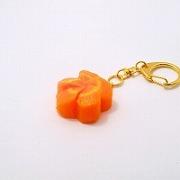 Flower-Shaped Carrot Ver. 2 Keychain - Fake Food Japan