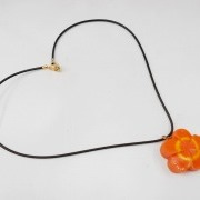 Flower-Shaped Carrot Ver. 2 Necklace - Fake Food Japan