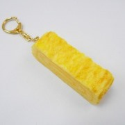 Fried Egg (medium) Keychain - Fake Food Japan