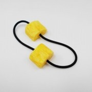 Fried Egg (mini) Hair Band (Pair Set) - Fake Food Japan