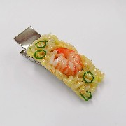 Fried Rice with Shrimp (large) Hair Clip - Fake Food Japan