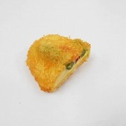 Fried Vegetables with Cheese Filling Magnet - Fake Food Japan