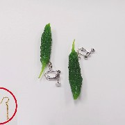 Goya (mini) Pierced Earrings - Fake Food Japan