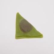 Green Tea (Matcha) Yatsuhashi Magnet - Fake Food Japan