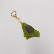 Green Tea (Matcha) Yatsuhashi (mini) Keychain - Fake Food Japan