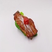 Grilled Beef (large) Hair Clip - Fake Food Japan