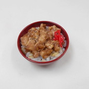 Grilled Meat & Rice Mini Bowl - Fake Food Japan