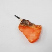 Grilled Salmon (small) Headphone Jack Plug - Fake Food Japan
