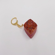 Grilled Steak (Dice-Shaped) Keychain - Fake Food Japan