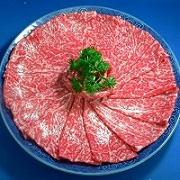 Gyu-niku (Beef) for Shabu Shabu Nabe (Hotpot) Replica - Fake Food Japan