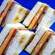Ham & Cheese Sandwich Replica - Fake Food Japan