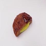 Hamburger Patty (Cheese-Filled) Magnet - Fake Food Japan
