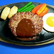 Hamburger Patty in Demi-Glace Sauce Replica - Fake Food Japan