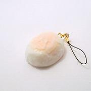 Japanese Hot Spring Slow Boiled Egg Cell Phone Charm/Zipper Pull - Fake Food Japan