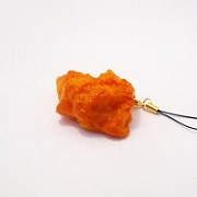 Kara-age (Boneless Fried Chicken) (medium) Cell Phone Charm/Zipper Pull - Fake Food Japan