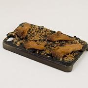 Kelp with Maitake Mushrooms & Katsuo (Dried Bonito Shavings) iPhone 4/4S Case - Fake Food Japan