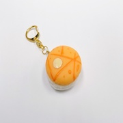 Macaron (light orange) Keychain - Fake Food Japan