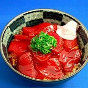 Maguro-don (Rice Bowl with Yellowfin Tuna) Replica - Fake Food Japan
