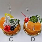 Mango Tart (D) Small Size Replica - Fake Food Japan