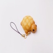 Melon Bread (Turtle-Shaped) Cell Phone Charm/Zipper Pull - Fake Food Japan