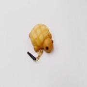 Melon Bread (Turtle-Shaped) Headphone Jack Plug - Fake Food Japan
