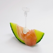 Melon with Uncured Ham Card Stand - Fake Food Japan