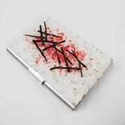 Mentaiko (Walleye Pollack Roe) Rice Business Card Case - Fake Food Japan
