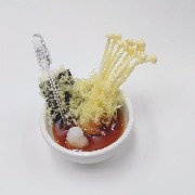 Mushroom & Seaweed Tempura Small Size Replica - Fake Food Japan