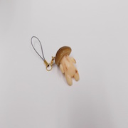 Mushroom Ver. 1 Cell Phone Charm/Zipper Pull - Fake Food Japan