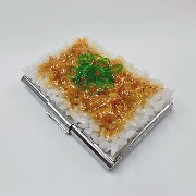 Natto (Fermented Soybeans) & Rice Business Card Case - Fake Food Japan