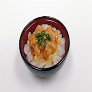 Natto (Fermented Soybeans) & Rice Mini Bowl - Fake Food Japan
