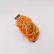 Neapolitan Spaghetti (large) Hair Clip - Fake Food Japan