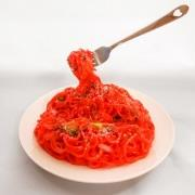Neapolitan Spaghetti Smartphone Stand - Fake Food Japan