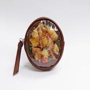 Nikujaga (Beef & Potato Stew) Circular Purse - Fake Food Japan