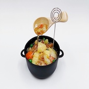 Nikujaga (Beef & Potato Stew) Small Size Replica - Fake Food Japan