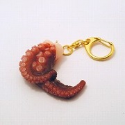 Octopus Keychain - Fake Food Japan